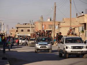 Kurdish Asayis Forces in Hasakah