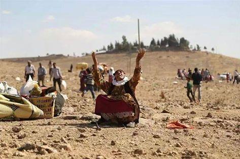 Kurdish Woman Kobane