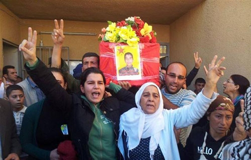Ayse Efendi, Syrian Kurdish Politician (Photo Yeniozgur Politika)