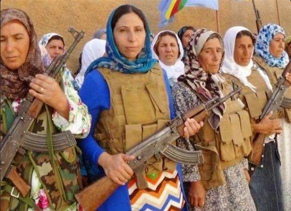 Kobane_Women