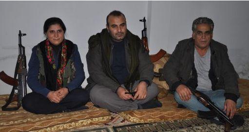 Asya Ebdulla, Anwar Moslem and Ibrahim Kurdo