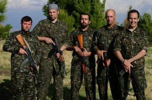 A Group of Foreign YPG Fighters