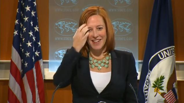 Jen Psaki, Spokesperson of the US State Department