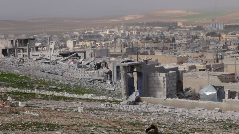 Horrifying destruction of Kobane (Photo Mahmoud Bali)