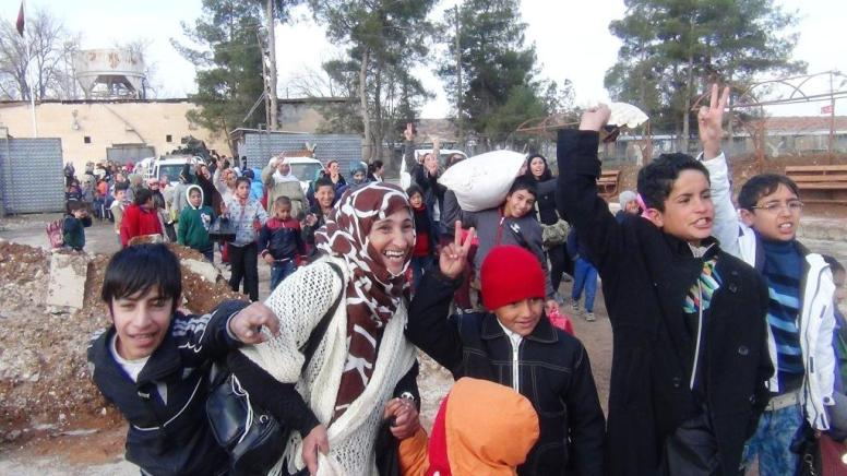 Kobane Civilians Returning Home (Photo Hawar News)