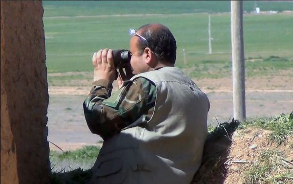 YPG Commander Husein Kocher