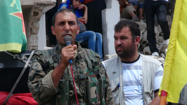 Haqi Kobani (Photo Mahmoud Balli)